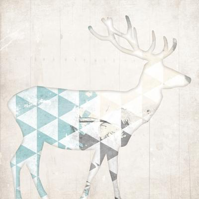 Deer Abstract by Jace Grey