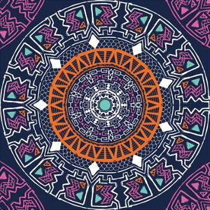 Geo Mandala by Jace Grey