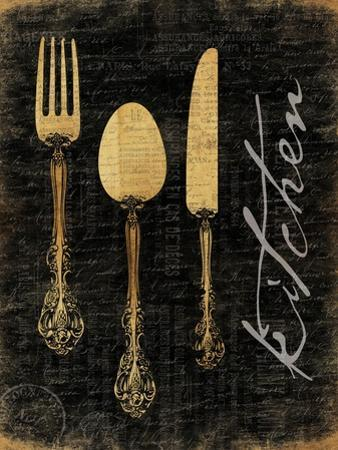 Golden Utensils by Jace Grey