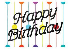 Happy Birthday Dots by Jace Grey