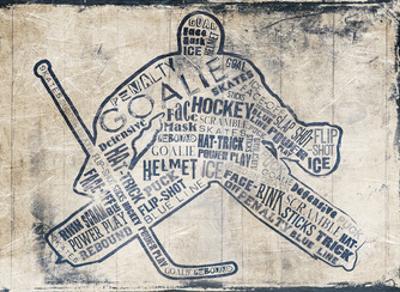 Hockey Type by Jace Grey