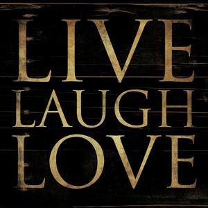 Live Laugh Love Square by Jace Grey
