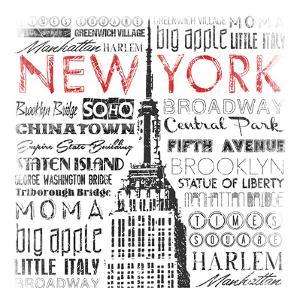 New York Words Mate by Jace Grey