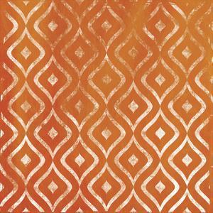 Orange Pattern by Jace Grey