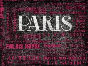 Pink Paris Type by Jace Grey