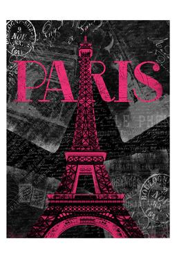 Pink Paris by Jace Grey