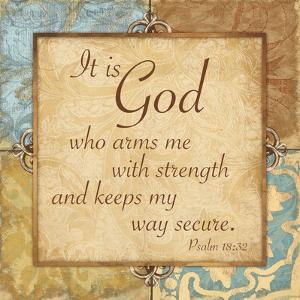 Psalm 18:32 by Jace Grey