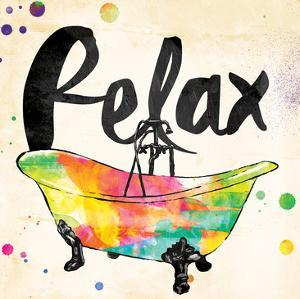Relax Colorful Bath by Jace Grey