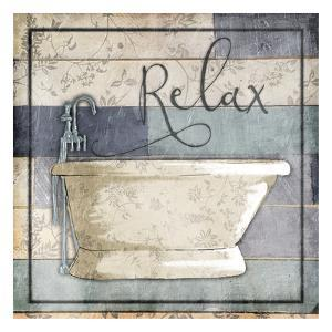 Relaxing Wooden Bath by Jace Grey