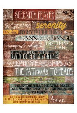 Serenity Prayer by Jace Grey