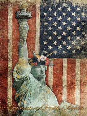 Statue Of America Is Great Again by Jace Grey
