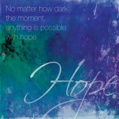 Watercolor Hope Quoted by Jace Grey