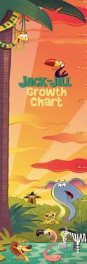 Jack and Jill - Jungle Growth Chart