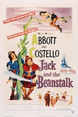 Jack and the Beanstalk, from Left: Bud Abbott, Lou Costello, 1952