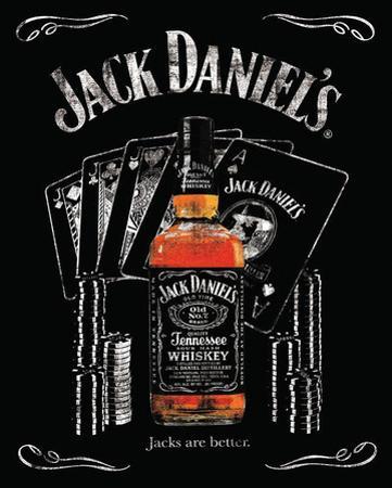 Jack Daniels Jacks are Better Poster