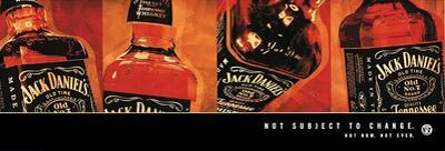 Jack Daniels Old No 7 Not Subject To Change Poster