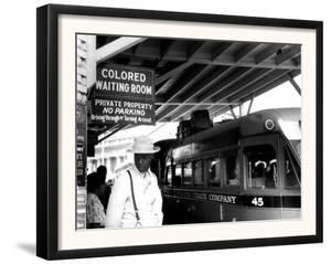 At the Bus Station in Durham, North Carolina by Jack Delano
