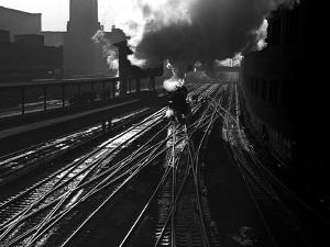 Heading into the Station by Jack Delano