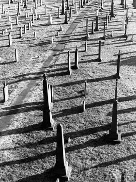 Middletown Cemetery by Jack Delano