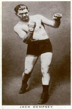 Jack Dempsey, American Boxer, 1938