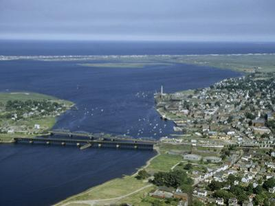 Aerial View of the Mouth of Merrimack River