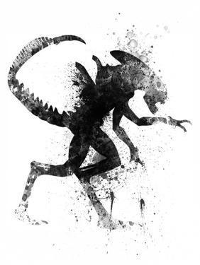 Alien Watercolor by Jack Hunter