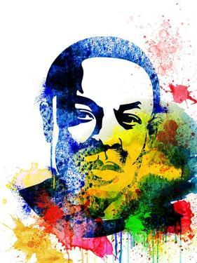 Dr. Dre Watercolor by Jack Hunter