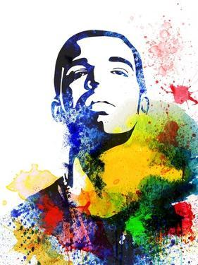 Drake Watercolor by Jack Hunter