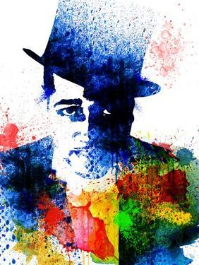 Duke Ellington Watercolor by Jack Hunter