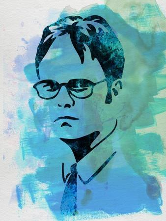 Dwight Schrute Watercolor