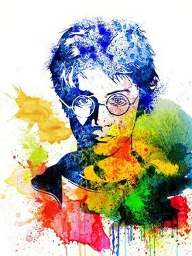 Harry Potter Watercolor I by Jack Hunter