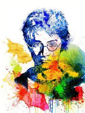 Harry Potter Watercolor I by Jack Hunter