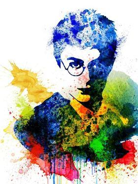 Harry Potter Watercolor by Jack Hunter
