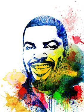 Ice Cube Watercolor by Jack Hunter