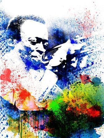 John Coltrane Watercolor