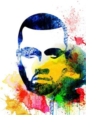 Kanye West Watercolor by Jack Hunter
