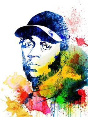 Kendrick Lamar Watercolor by Jack Hunter