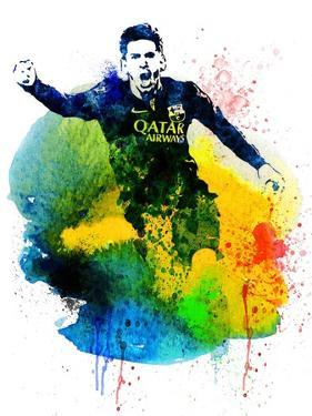 Lionel Messi I by Jack Hunter
