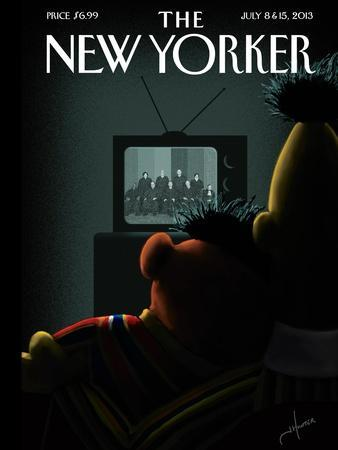 Moment of Joy - The New Yorker Cover, July 8, 2013