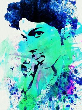 Prince Watercolor by Jack Hunter