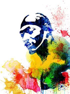 Snoop Dog Watercolor by Jack Hunter