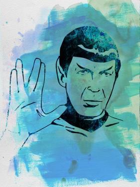 Spock Watercolor by Jack Hunter