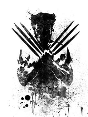 Wolverine Watercolor by Jack Hunter
