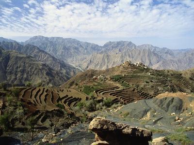 Remote Mountain Village, Yemen