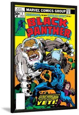 Black Panther No.5 Cover: Black Panther by Jack Kirby