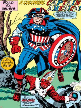 Captain America Bicentennial Battles: Captain America and Red Skull by Jack Kirby