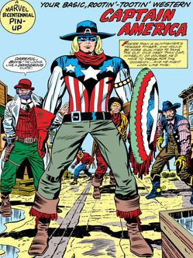 Captain America Bicentennial Battles: Captain America by Jack Kirby