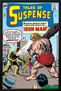 Tales Of Suspense: Iron Man No.42 Cover: Iron Man and Gargantus by Jack Kirby
