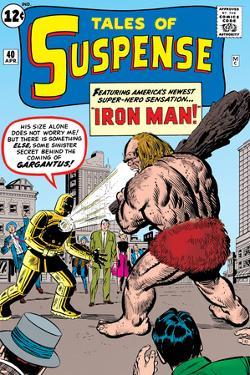 Tales Of Suspense: Iron Man No.42 Cover: Iron Man and Gargantus by Jack Kirby