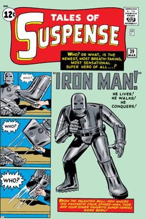 Tales of Suspense No.39 Cover: Iron Man by Jack Kirby